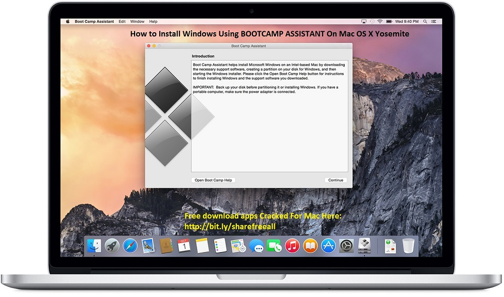 How to Install Windows 7,8,8.1,10 on Mac OS X Using Boot Camp Assistant