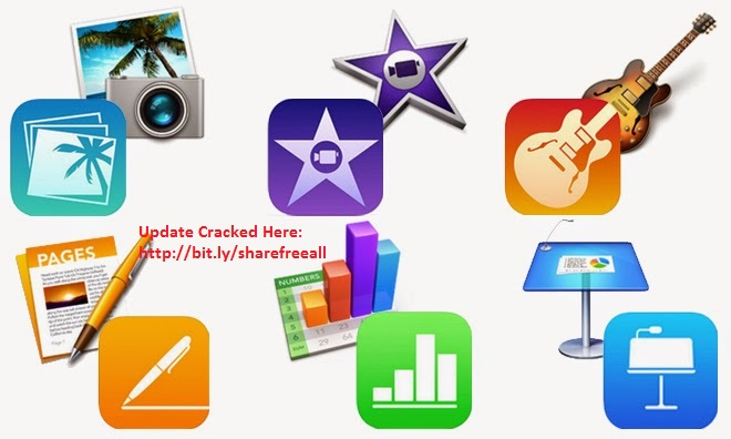 IWORK 2014 - IPHOTO 9.6 - IMOVIE 10.0.6 Full Activated For Mac OS X
