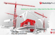 SketchUp Pro 2015 + VRay 2 Crack Keygen For Mac OS X Free Download