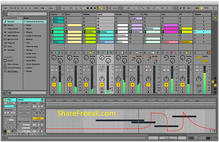 Ableton Live 9 Suite 9.1.8 Serial Crack For Mac OS X x64