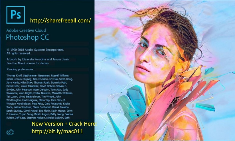 Adobe Photoshop CC 2017 v18.1.1.252 Serial For Mac OS X Free Download
