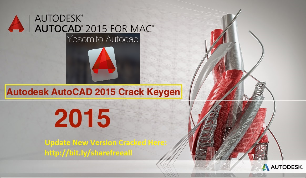 AutoDesk AutoCAD 2015 Keygen For Mac OS X Free Download