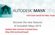 AutoDesk MAYA 2015 Serial For Mac OS Sierra Free Download
