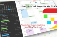 Fantastical 2.1.5 Crack Keygen For Mac OS X Free Download
