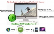 Flip4Mac Studio Pro HD 3.3.7.3 Serial Number For Mac OS X Free Download