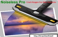 Noiseless Pro 1.0.1 Crack Keygen For Mac OS X Free Download