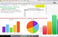 Numbers 2015 3.5.3 Serial Crack For Mac OS X-Numbers Activation Number