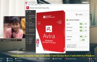Avira Internet Security Suite 2015 Activation Code License Keys Until 2020