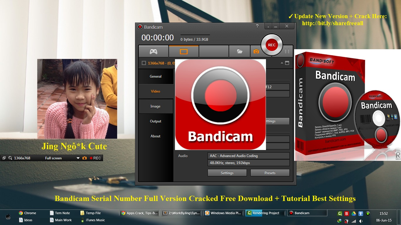 Bandicam 2.2.2.790 2015 Serial Number Full Cracked + Tutorial Best Settings