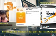 Foxit Reader 7.15 2015 For Windows 32 bits and 64 bits Free Download