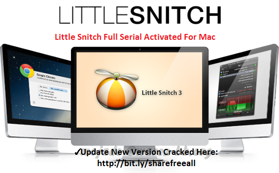 Little Snitch 3.7 (4718) Serial License Key For Mac OS X Free Download