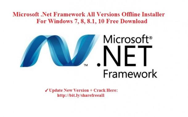 Microsoft .Net Framework All Versions Offline Installer For Windows OS