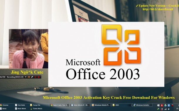 Microsoft Office 2003 Activation Key Crack Free Download For Windows OS