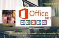 Microsoft Office 2013 Plus Activation Key Kms Activator For Windows OS