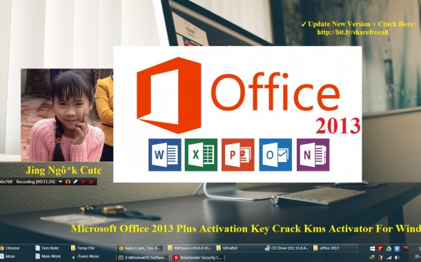 Microsoft Office 2013 Plus Activation Key Crack Kms Activator For Windows OS