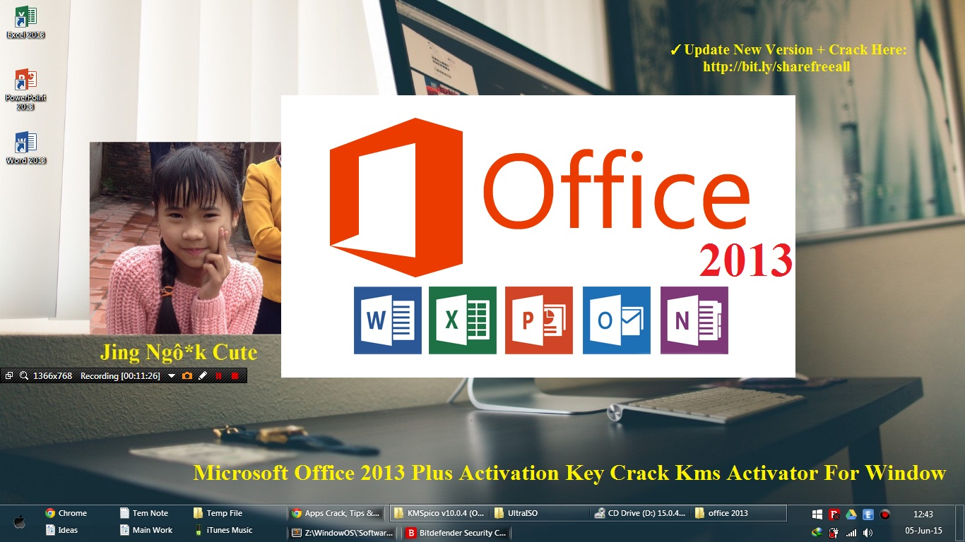 Microsoft office 2013 activation key crack kms activator - Office professional plus 2013 license key ...