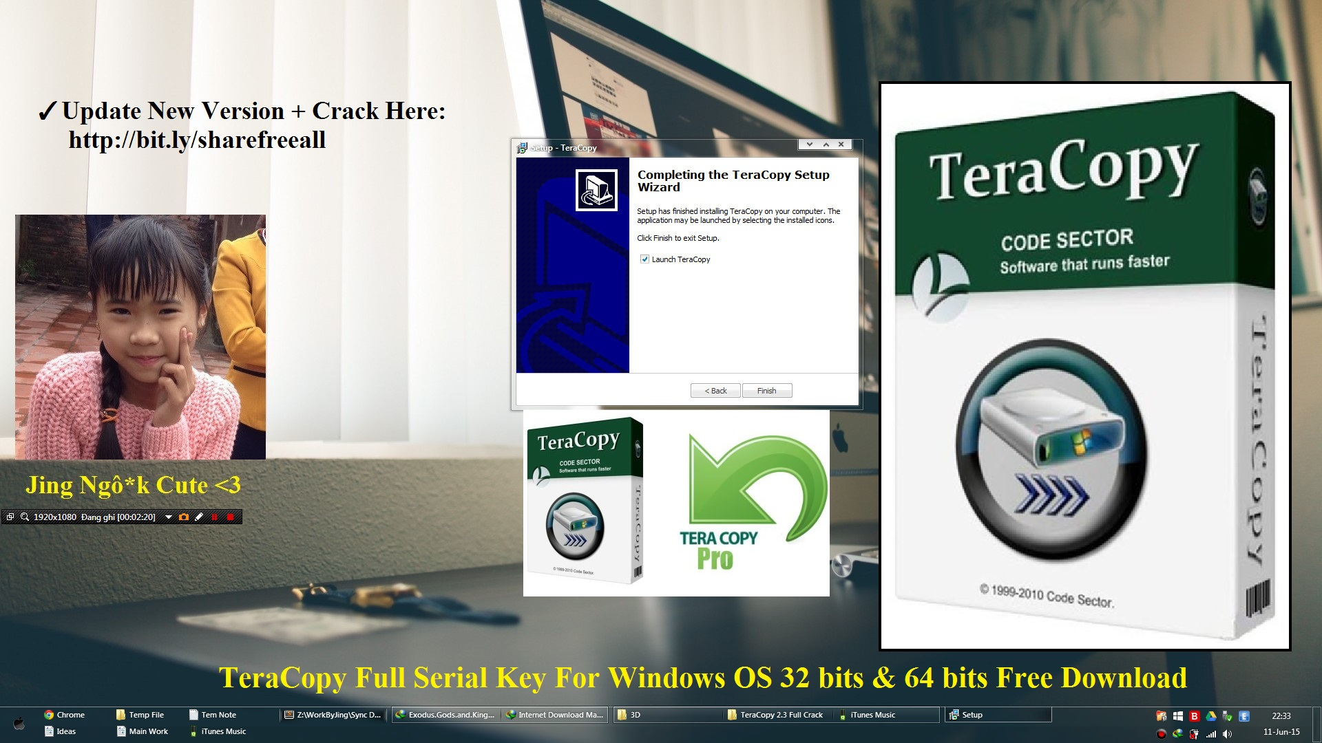 TeraCopy 2.3 2015 Crack Serial For Windows 32 bits and 64 bits