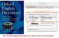 The Oxford English Dictionary 2nd Edition 4.0.0.3 For Mac OS X