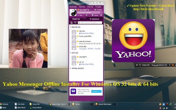Yahoo Messenger 11.5 Offline Installer For Windows OS 32 bits & 64 bits