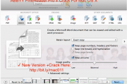 ABBYY FineReader Pro 12.1.6 Cracked Keygen For Mac OS Sierra Free Download