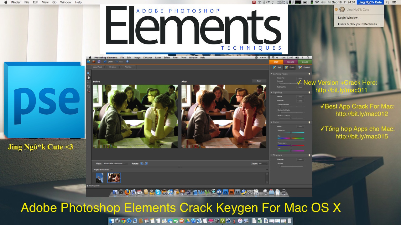 Adobe Photoshop Elements 14 Serial For Mac OS X Free Download