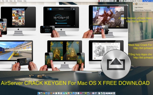 AirServer 7.1.4 Cracked Serial For Mac OS X Free Download