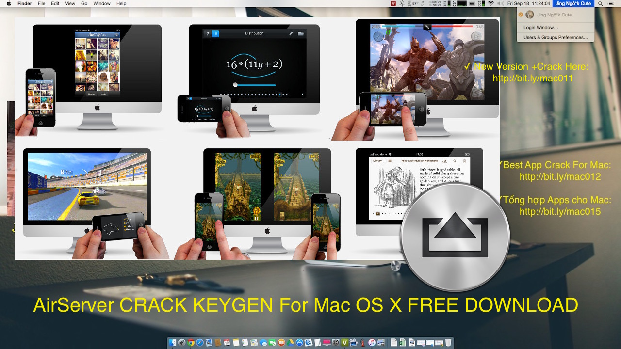 AirServer 6.0.2 Crack Keygen For Mac OS X FREE DOWNLOAD