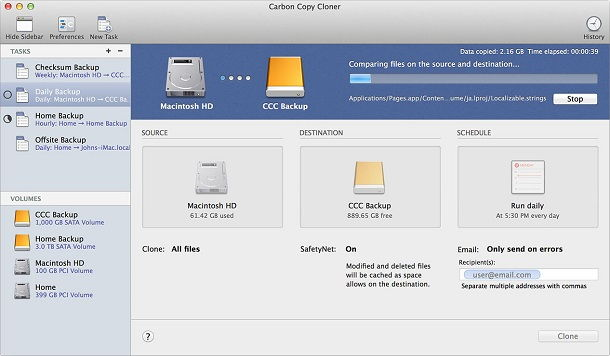 Carbon Copy Cloner 4.1.6 Crack Keygen For Mac OS X