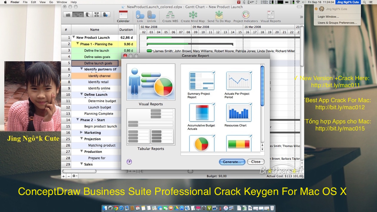 ConceptDraw Business Suite 7 Professional Crack Keygen For Mac OS X
