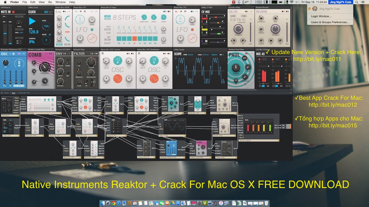 Native Instruments Reaktor 6 Serial Crack For Mac OS X