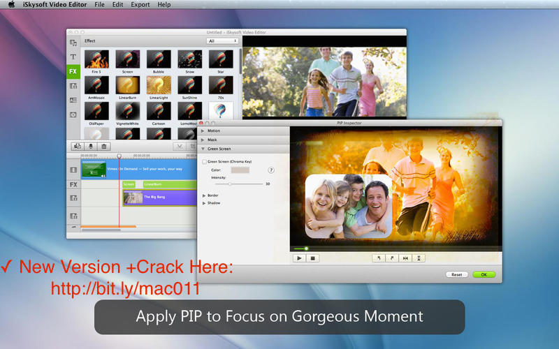 iSkysoft Video Editor 6.0.1 Serial Keygen For Mac OS X Free Download