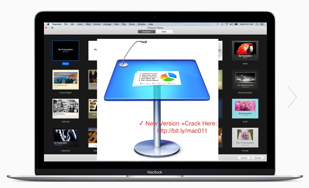 Apple Keynote 6.6 Crack Keygen For Mac OS X- Apple iWork Free Download
