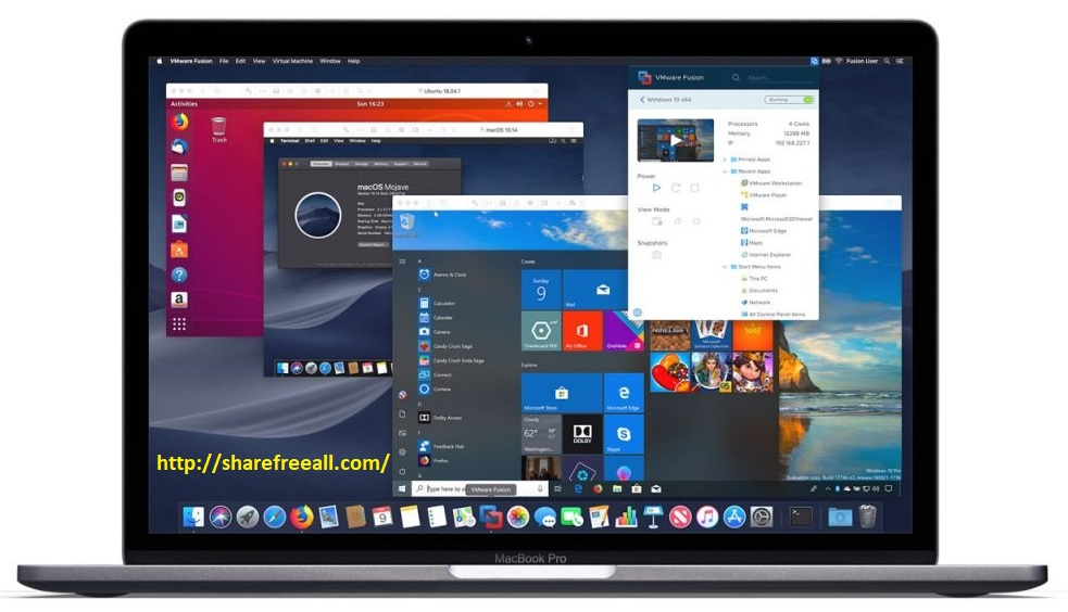 VMware Fusion Pro 10.1.0 Cracked Serial For Mac OS X Free Download