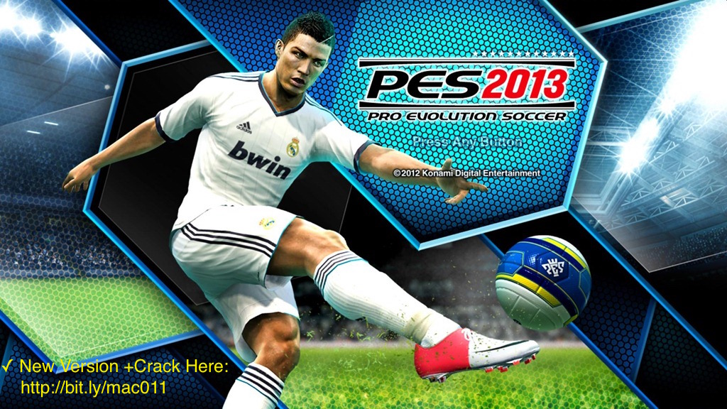PES For Mac-Pro Evolution Soccer 2013 Full Crack For Mac OS X