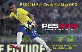 PES For Mac-Pro Evolution Soccer 2016 Crack For Mac OS X