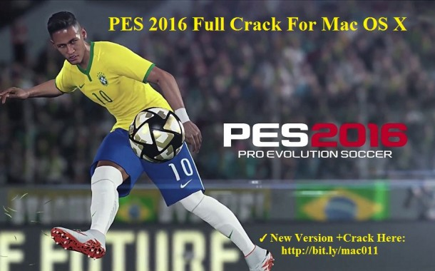 PES For Mac-Pro Evolution Soccer 2016 Crack For Mac OS X Free Download