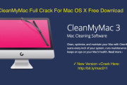 CleanMyMac 3.6.0 Final Activation Number Crack For Mac OS Sierra Free Download