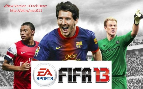 FIFA 2013 Full Cracked For Mac OS X Free Download Mac Games