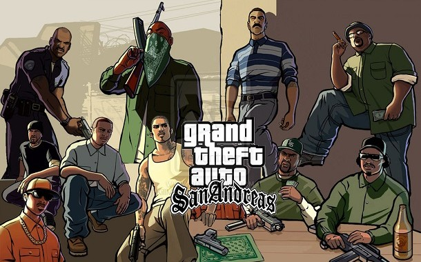 GTA San Andreas Cracked For Mac OS X Free Download Mac Games