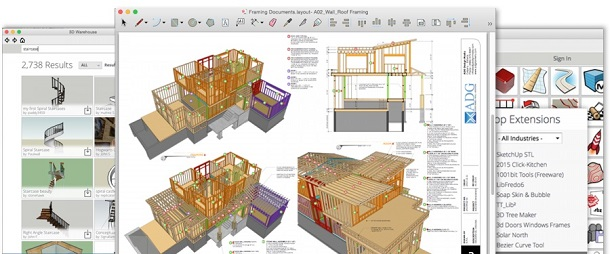 SketchUp Pro 2016 + VRay 2 Keygen For Mac OS X Free Download