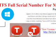 Tuxera NTFS 2016 Serial Number Crack For Mac OS Sierra Free Download