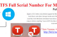 Tuxera NTFS 2019 Serial Number Crack For Mac OS X Free Download