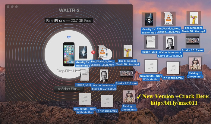 Waltr 1.7.2 Cracked Serial For Mac OS X Free Download