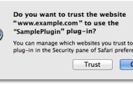 Cách tắt thông báo Do you want trust the website ... trên Safari