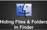 Hướng dẫn Ẩn và hiện thư mục, tập tin trong Mac OS X bằng Terminal