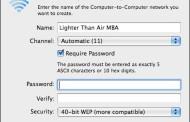 Cách Phát Wifi Từ Laptop Macbook Mac OS X cho điện thoại iphone/android