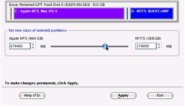 Hướng dẫn Resize tăng/giảm dung lượng BootCamp Partition Windows với PARAGON CAMPTUNE X